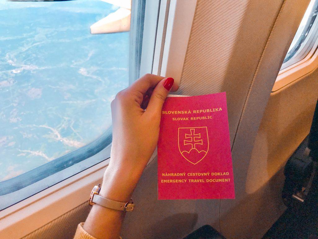 náhradný cestovný doklad