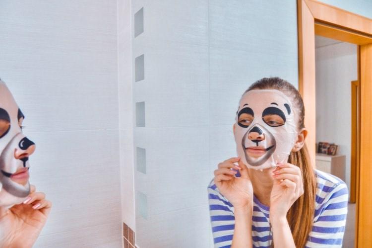 plátená maska